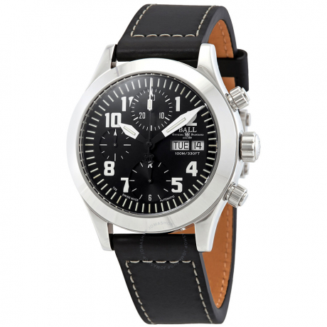 Express - Lay1004 - Engineer II Automatic Black Dial Men's Watch