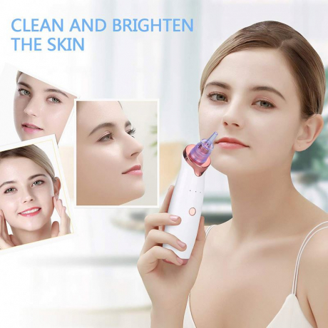 2019 Trending Blackhead Remover Pore Vacuum Facial Pore Cleaner Blackhead Extractor Suction Remover Comedone Suction Remover
